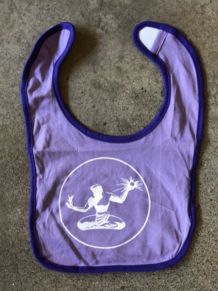Spirit of Detroit Jersey Bib / Lavender + Purple - Pure Detroit