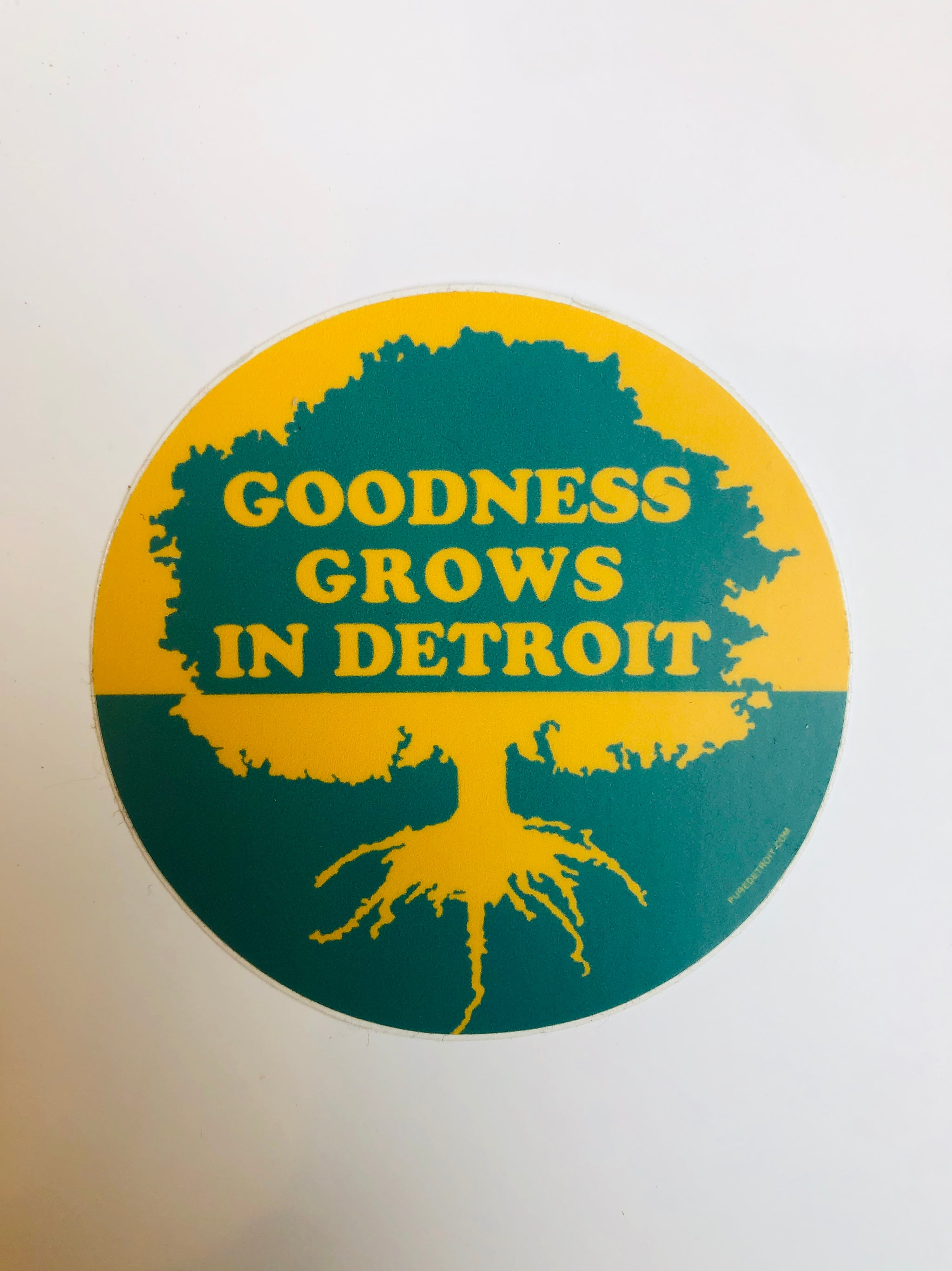 Goodness Grows in Detroit Soft Magnet