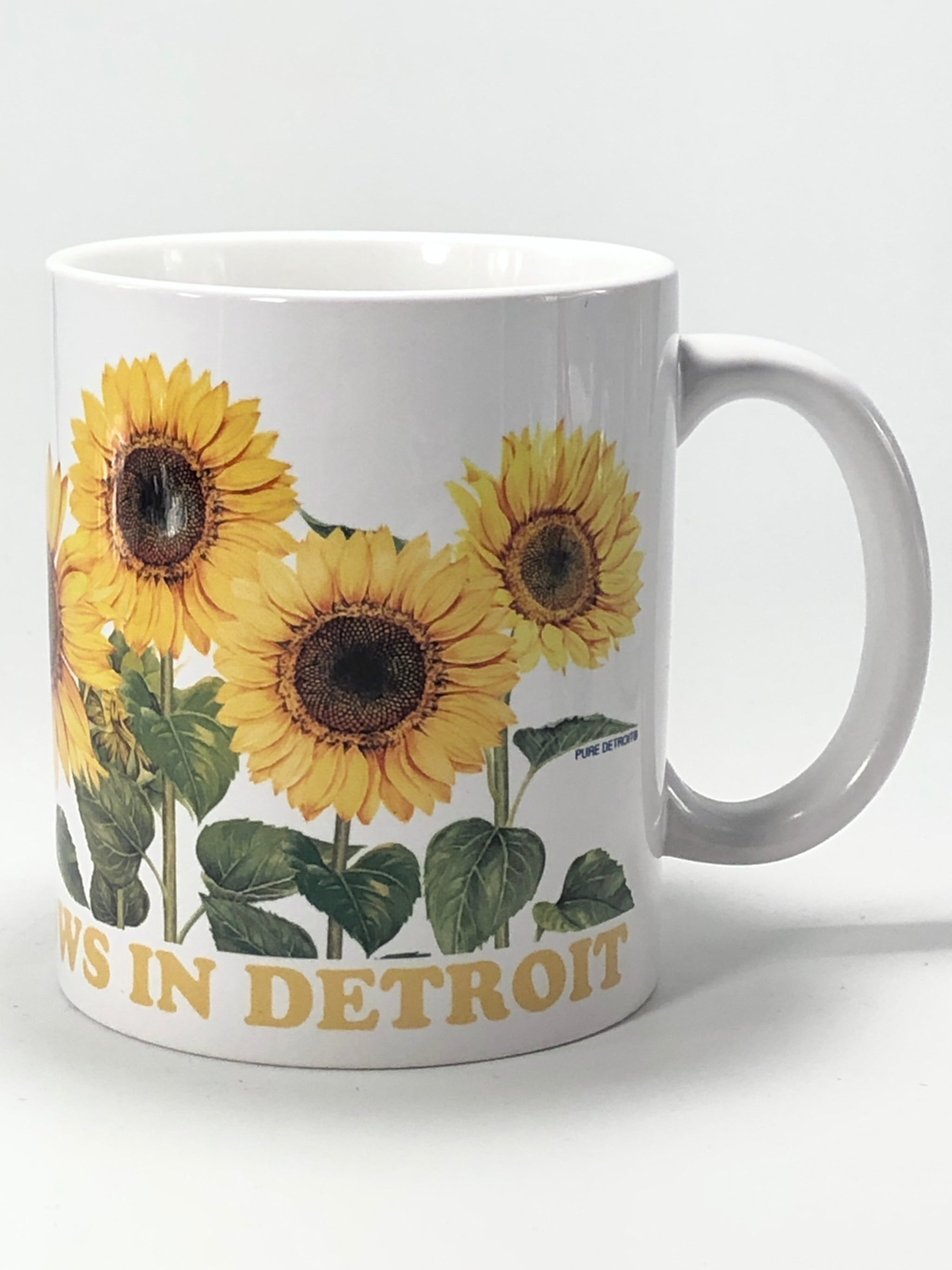 Goodness Grows in Detroit 11 oz Coffee Mug - Pure Detroit