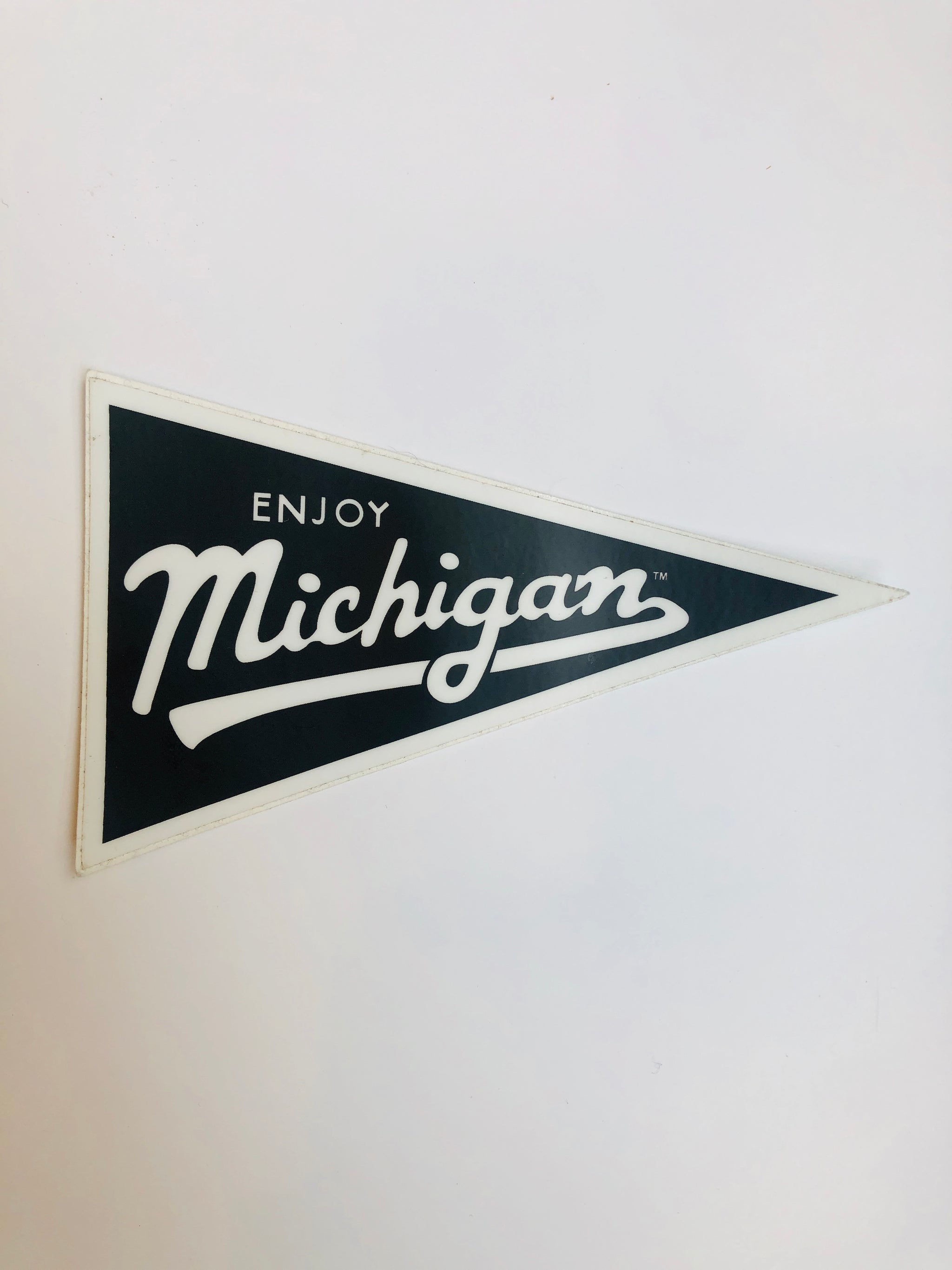 Enjoy Michigan Flag Decal - Pure Detroit