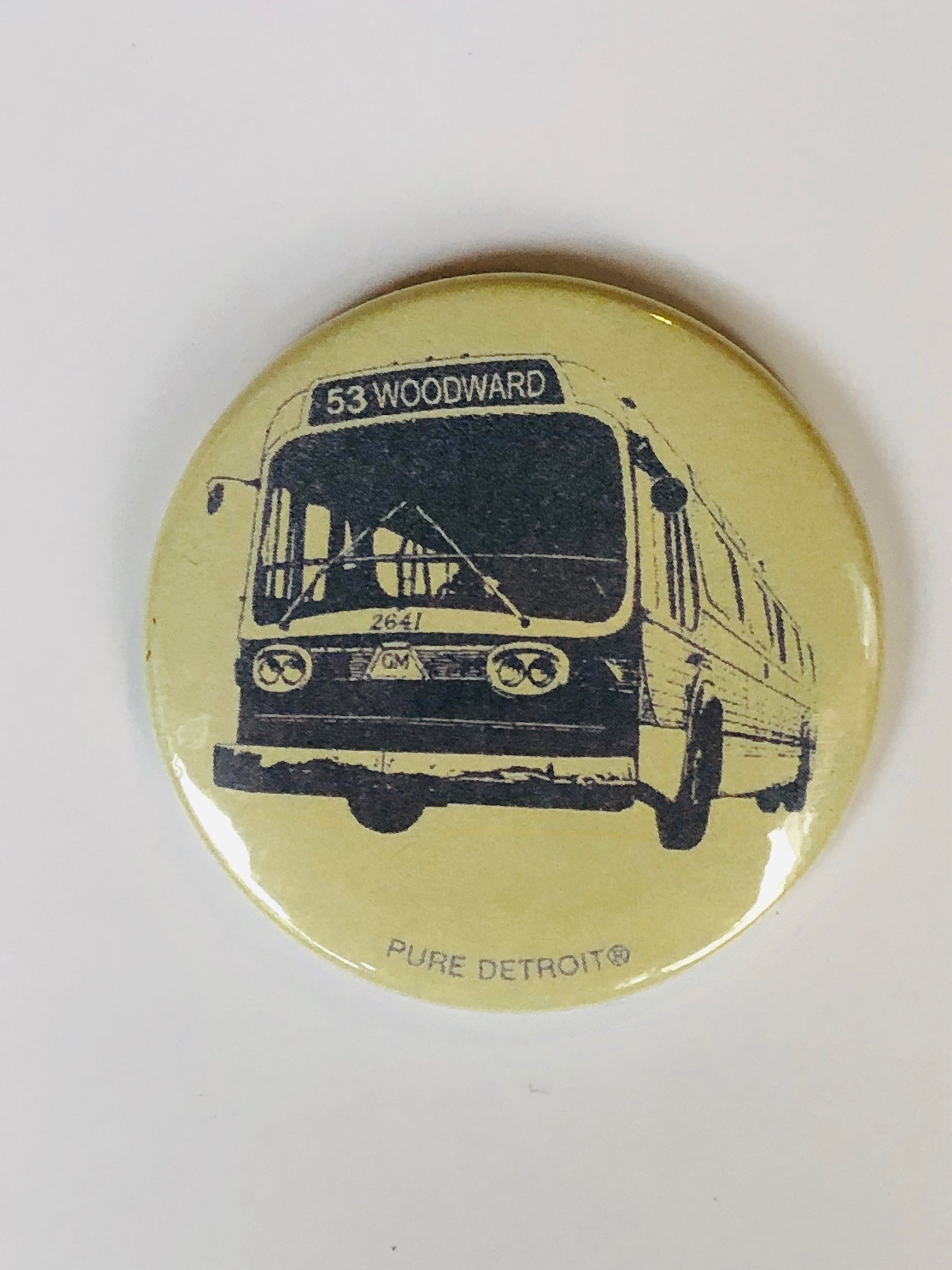 Woodward Bus Magnet