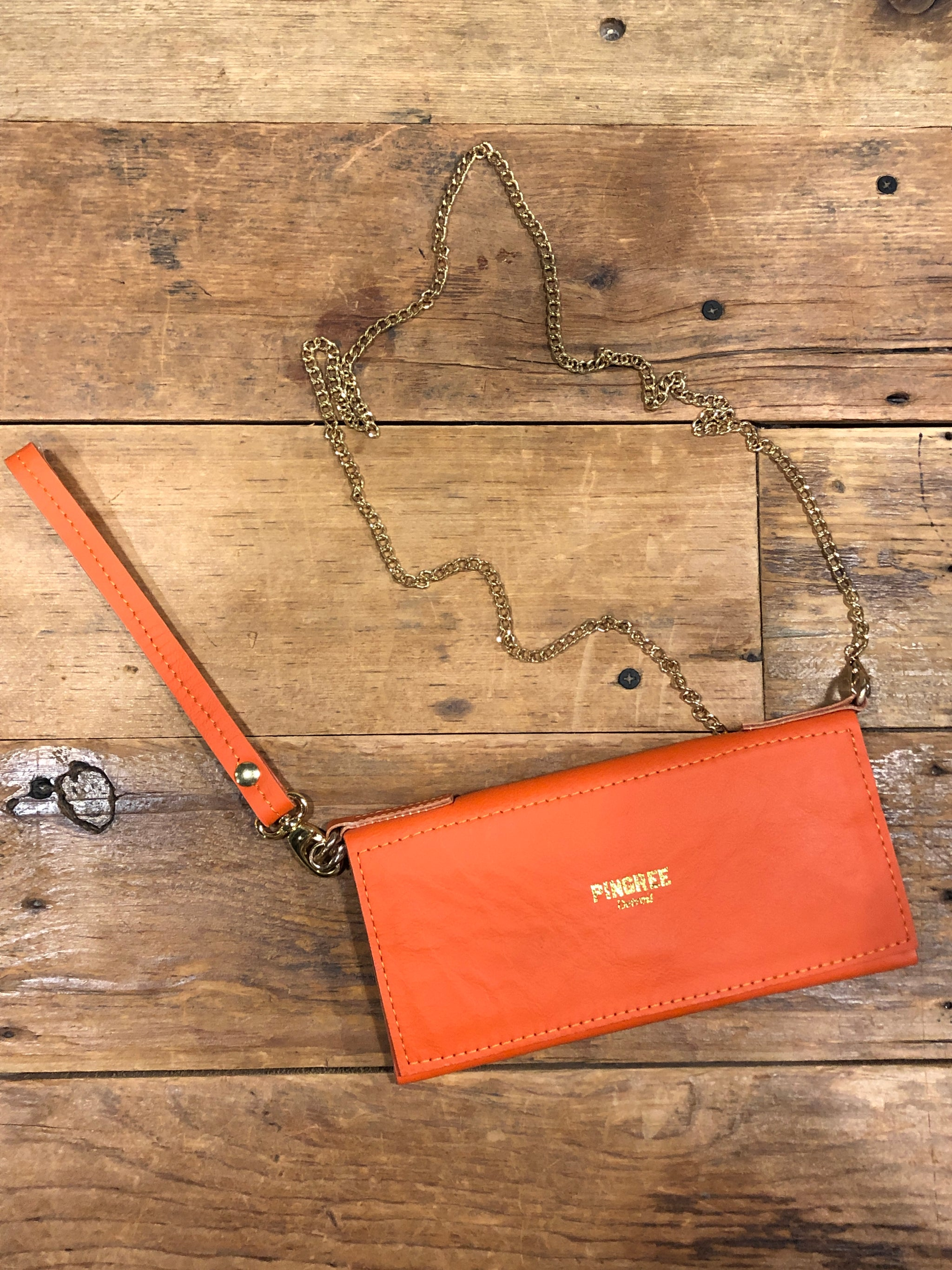 Pingree Adeline Clutch / Orange