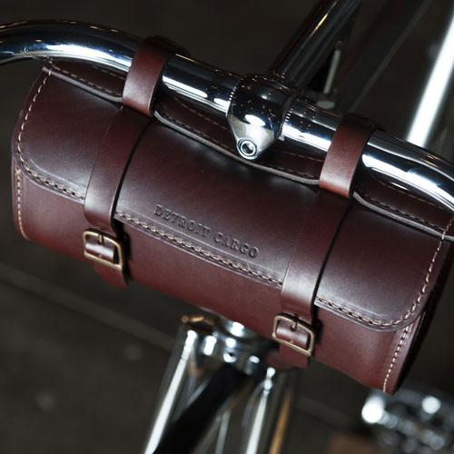 Detroit Jefferson Handlebar Bag / Amber