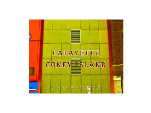 Lafayette Coney Island l Luster or Canvas Print $35 - $430 - Pure Detroit
