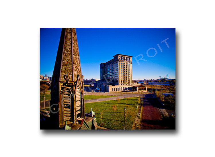 Michigan Central Grace Luster or Canvas Print $35 - $430 - Pure Detroit