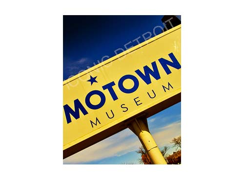 Motown Museum Sign Luster or Canvas Print $35 - $430 - Pure Detroit