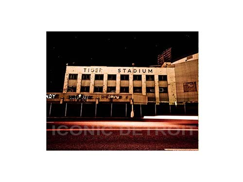 Old Tiger Stadium Luster or Canvas Print $35 - $430 - Pure Detroit