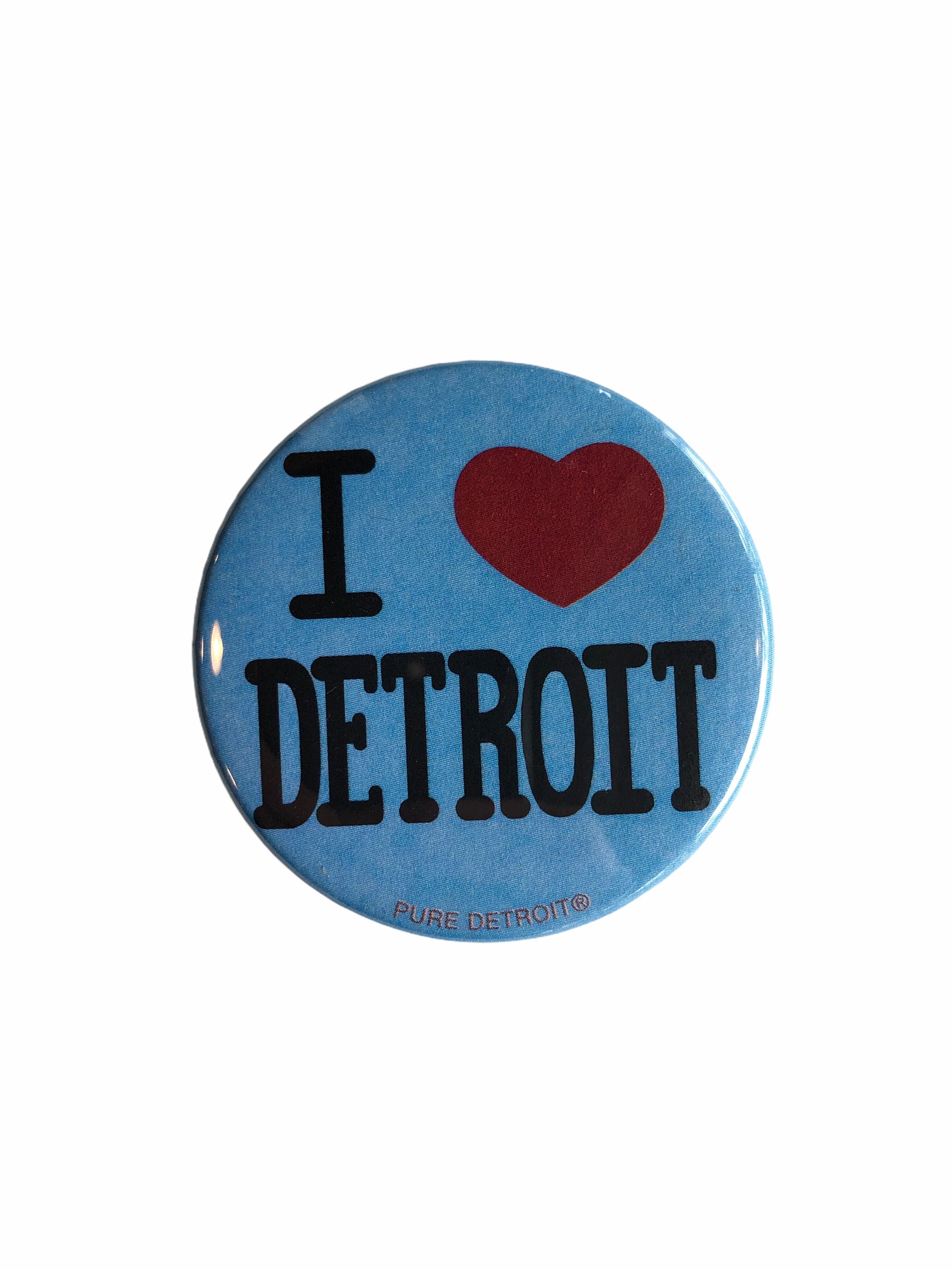 I Love Detroit Magnet - Pure Detroit