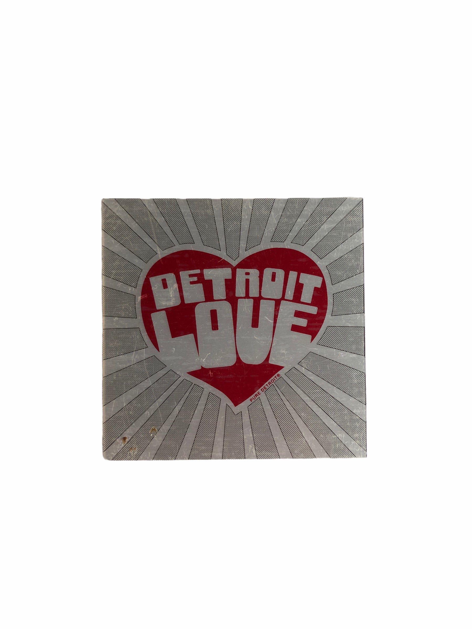 Detroit Love Square Magnet - Pure Detroit
