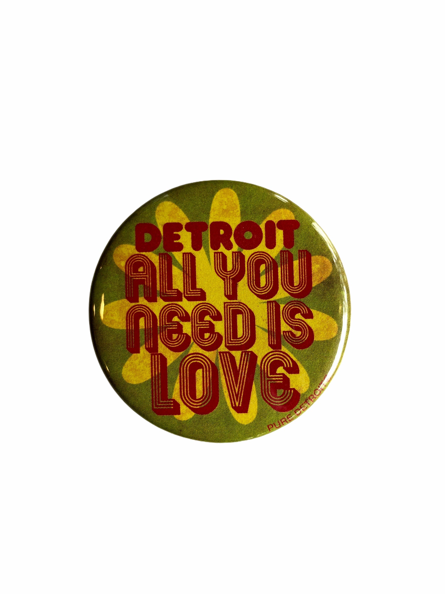 Detroit All You Need Is Love Magnet - Pure Detroit