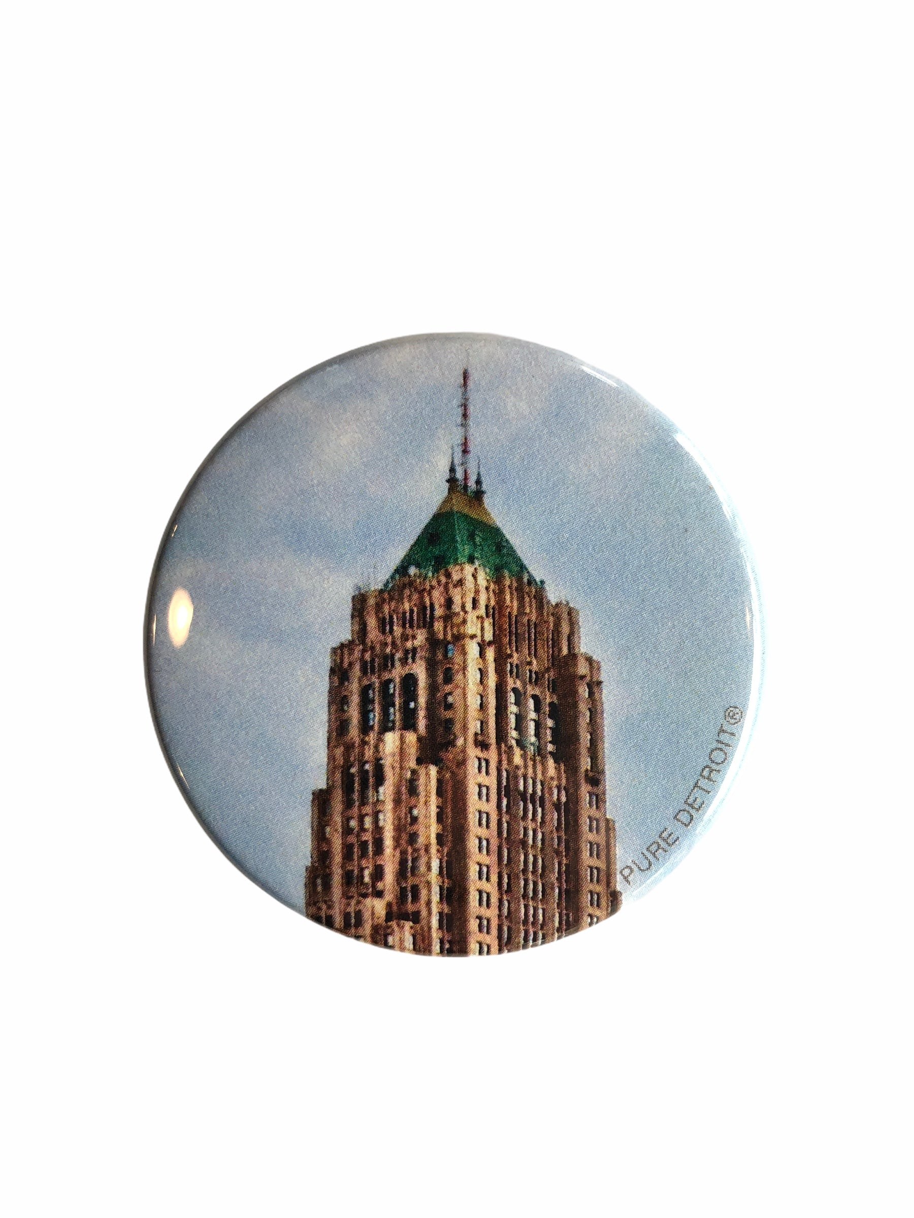 Fisher Building Magnet - Pure Detroit