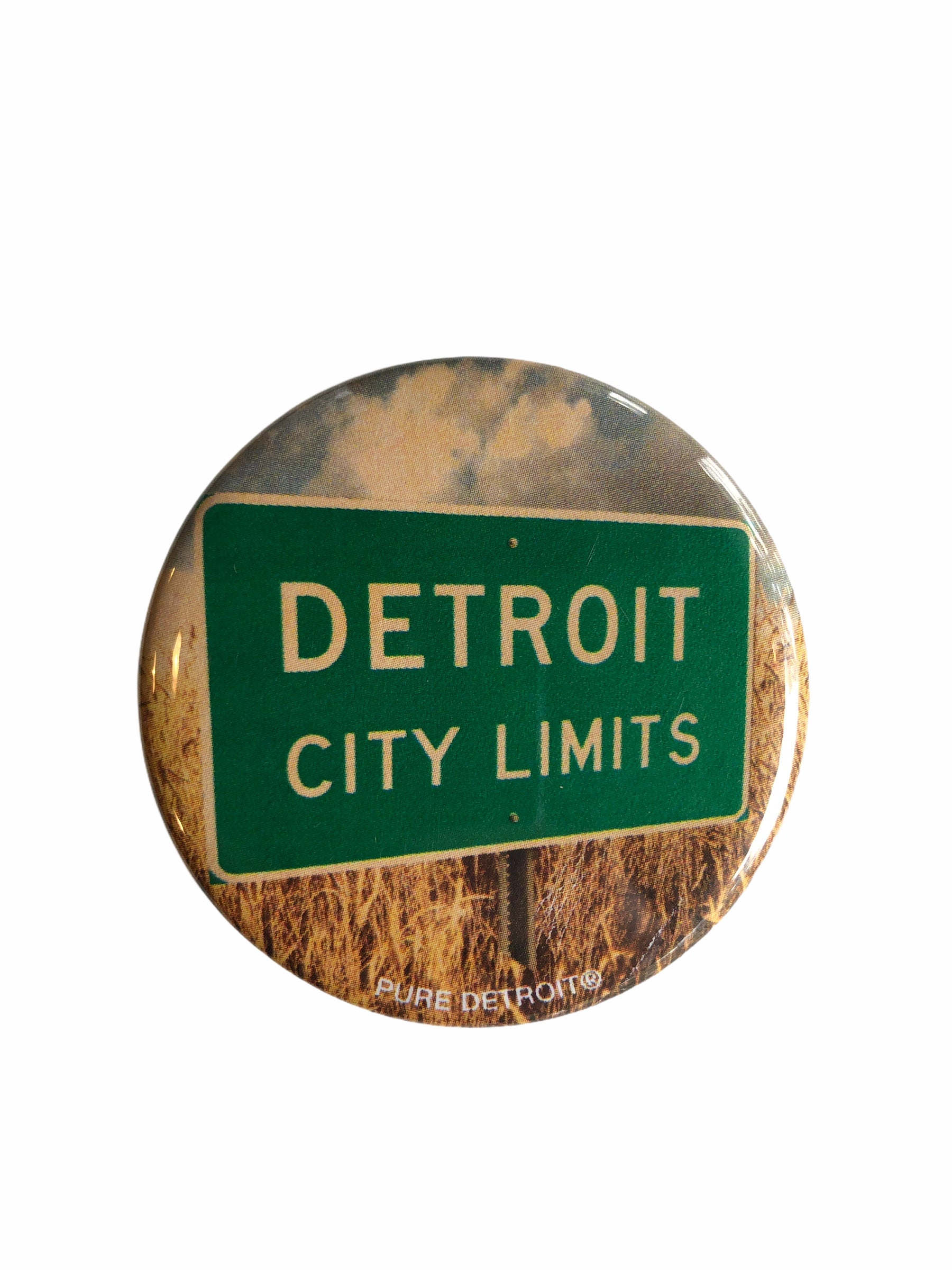 Detroit City Limits Magnet - Pure Detroit