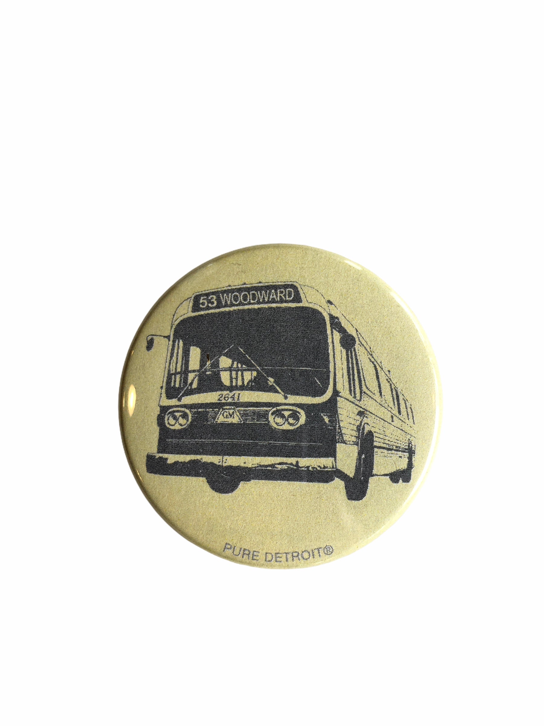 Woodward Bus Magnet - Pure Detroit
