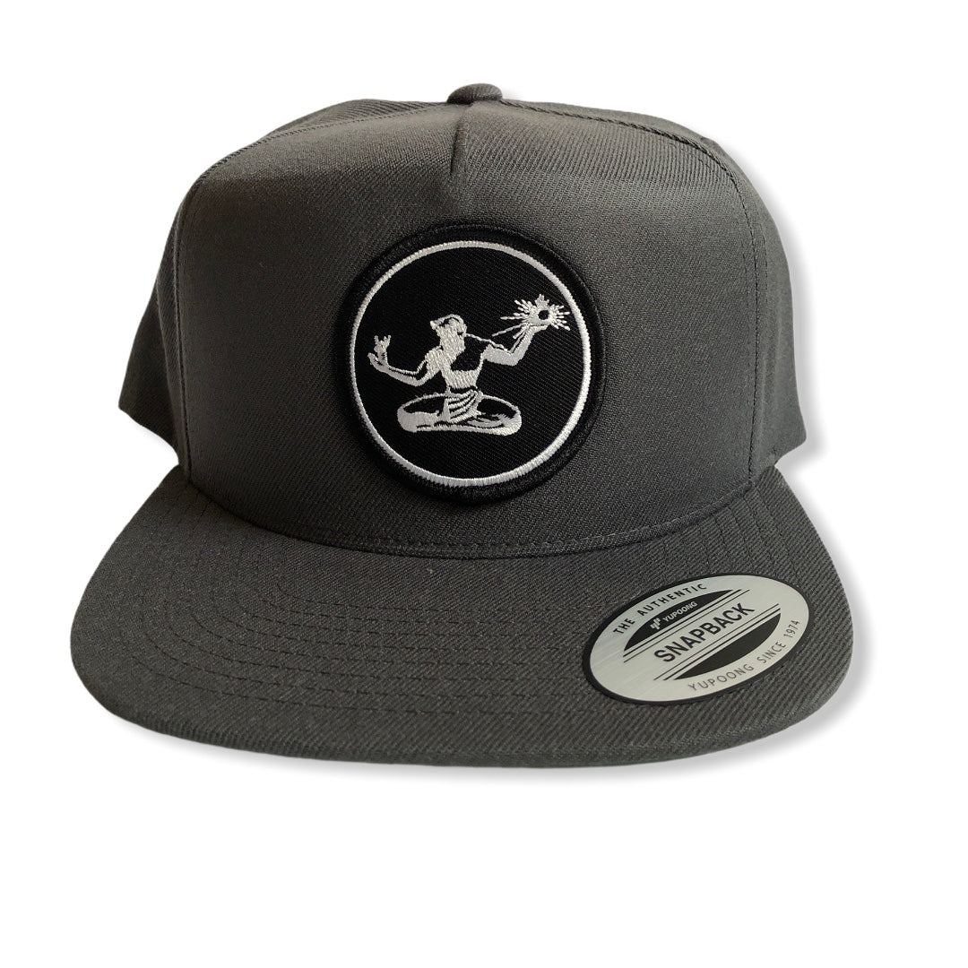 Spirit of Detroit Snapback Hat / Dark Gray - Pure Detroit