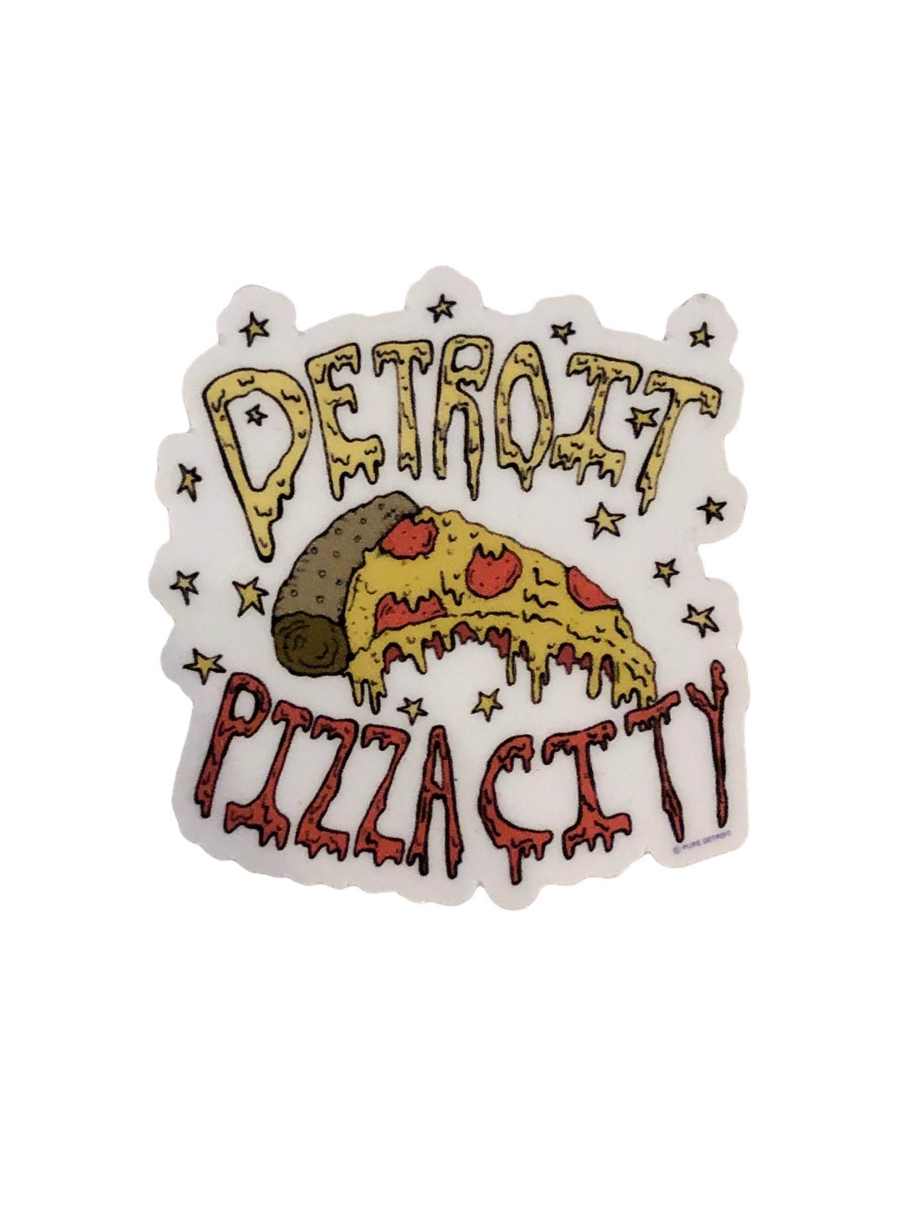 Detroit Pizza City Decal - Pure Detroit