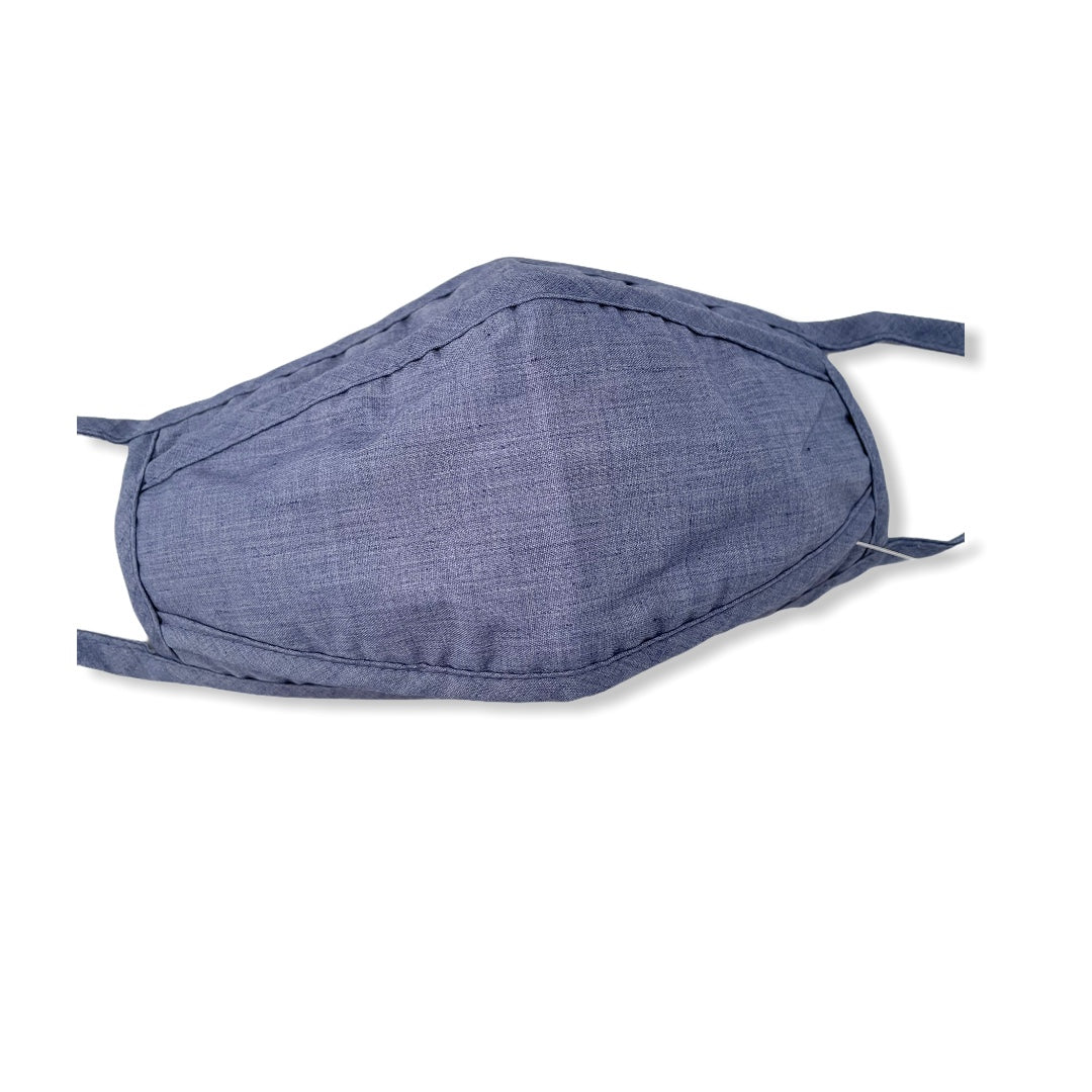 Porcupine Protective Face Mask / Chambray Venice Blue - Pure Detroit