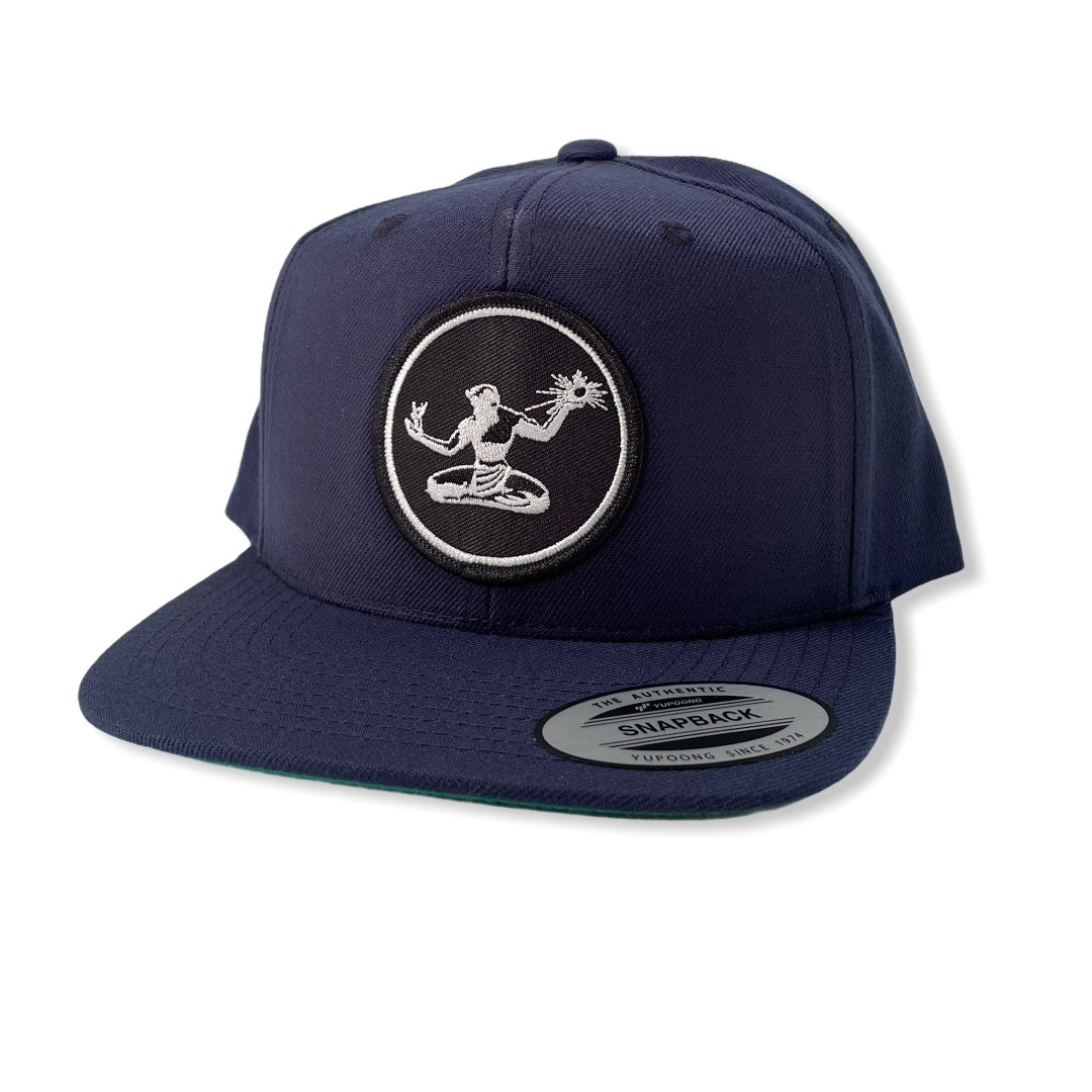 Spirit of Detroit Snapback Hat / Navy - Pure Detroit