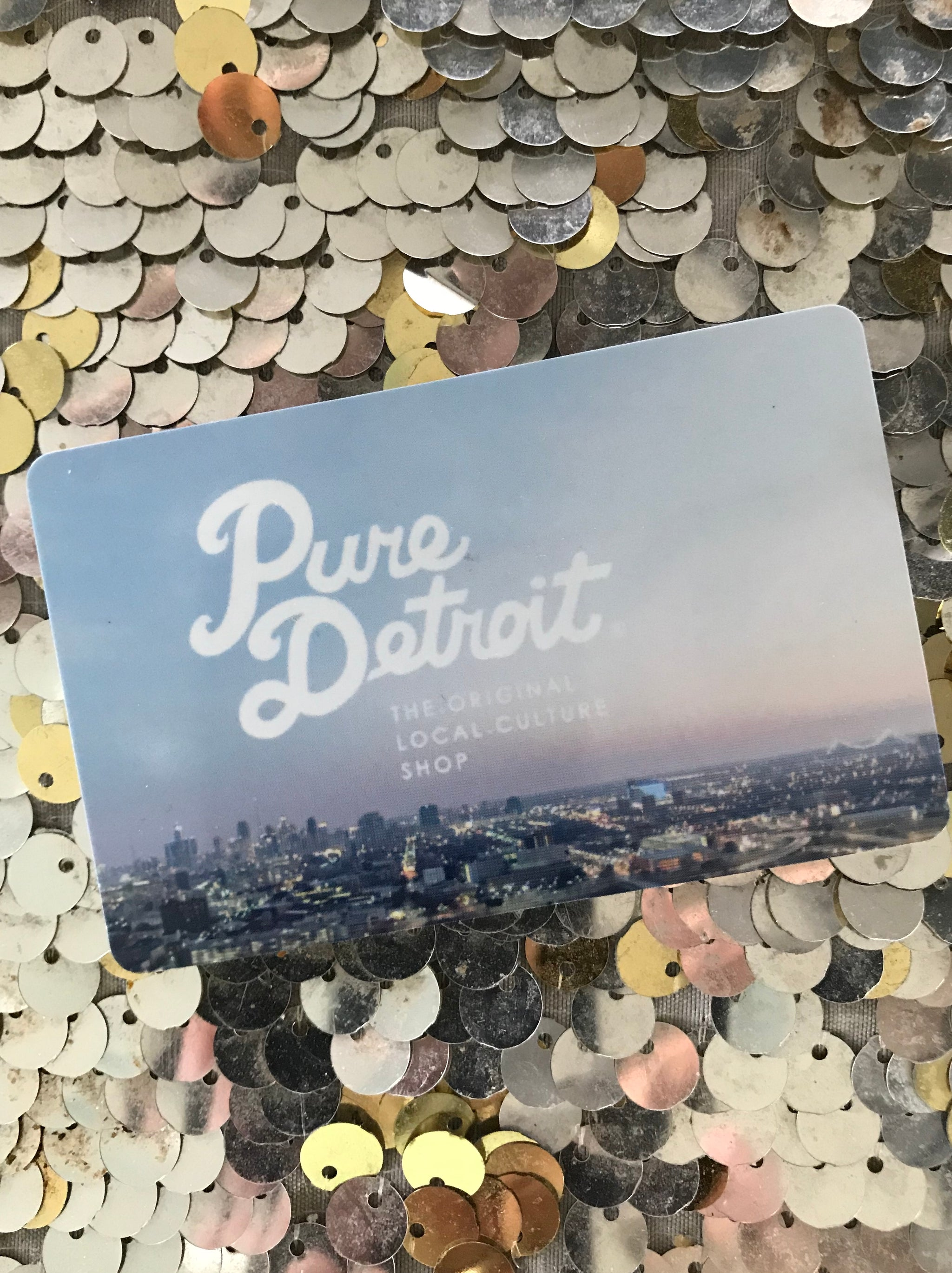 Pure Detroit Gift Card - $100 - Pure Detroit