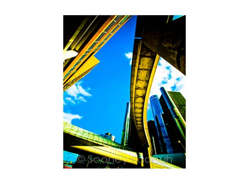 Ren Cen People Mover Luster or Canvas Print $35 - $430 - Pure Detroit