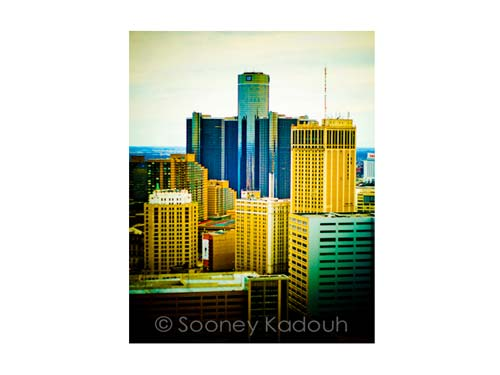 Detroit City View Luster or Canvas Print $35 - $430 - Pure Detroit