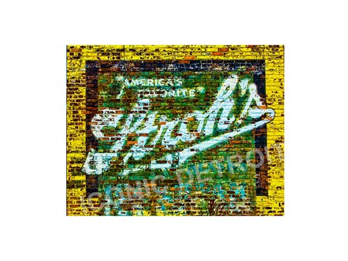 Stroh's Mural Luster or Canvas Print $35 - $430 - Pure Detroit