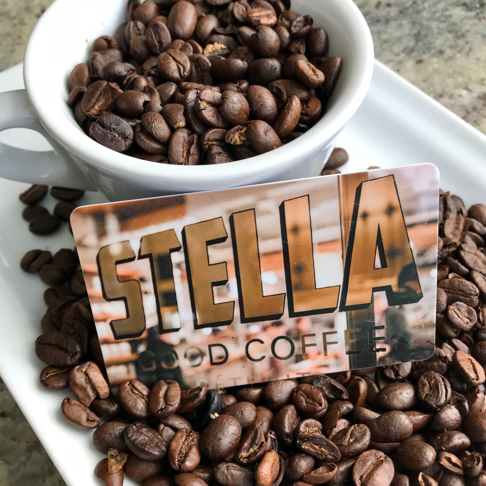 Stella Good Coffee Gift Card - $25 - Pure Detroit