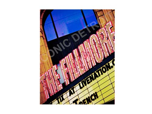 The Fillmore Luster or Canvas Print $35 - $430 - Pure Detroit