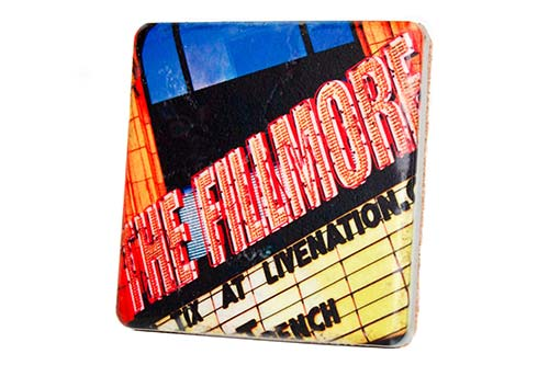The Fillmore Porcelain Tile Coaster - Pure Detroit