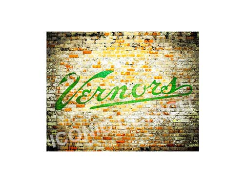 Vernor's Mural Luster or Canvas Print $35 - $430 - Pure Detroit
