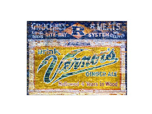 Vernor's Detroit Mural Luster or Canvas Print $35 - $430