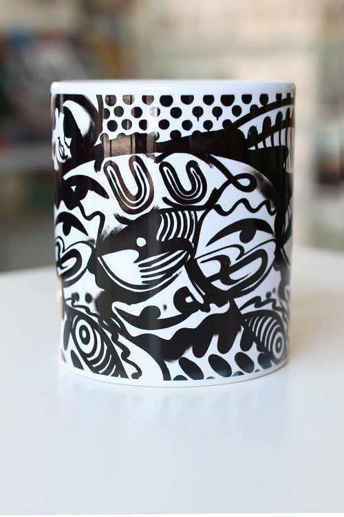 Will Bevan x Stella Good Coffee Mug / White - Pure Detroit