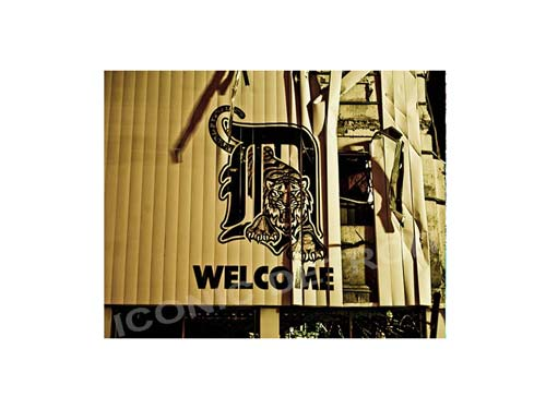 Welcome to Tiger Stadium Luster or Canvas Print $35 - $430 - Pure Detroit
