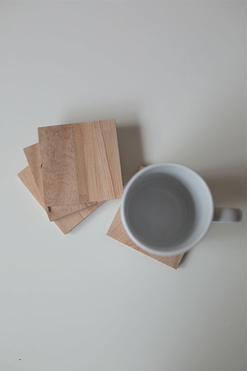Workshop Detroit Reclaimed Wood Coasters / Lager - Pure Detroit