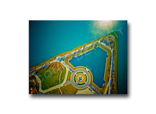 Belle Isle Birds Eye View Luster or Canvas Print $35 - $430 - Pure Detroit
