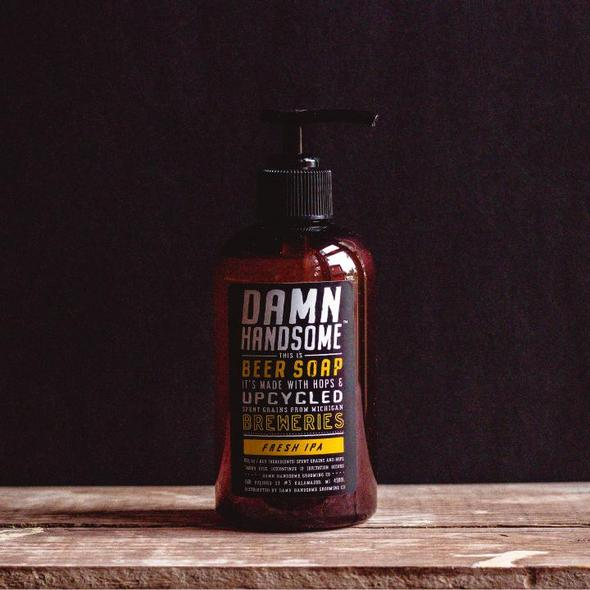 Damn Handsome Grooming Co. Beer Soap - Fresh Ipa - Pure Detroit