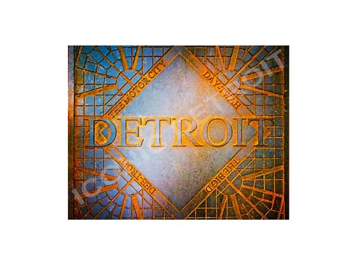 Detroit Decor Luster or Canvas Print $35 - $430 - Pure Detroit