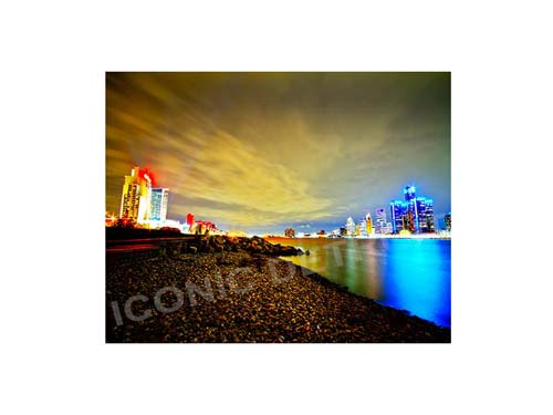 Detroit Windsor Beach Luster or Canvas Print $35 - $430 - Pure Detroit