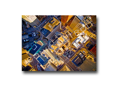 Penobscot Birds Eye View Luster or Canvas Print $35 - $430 - Pure Detroit