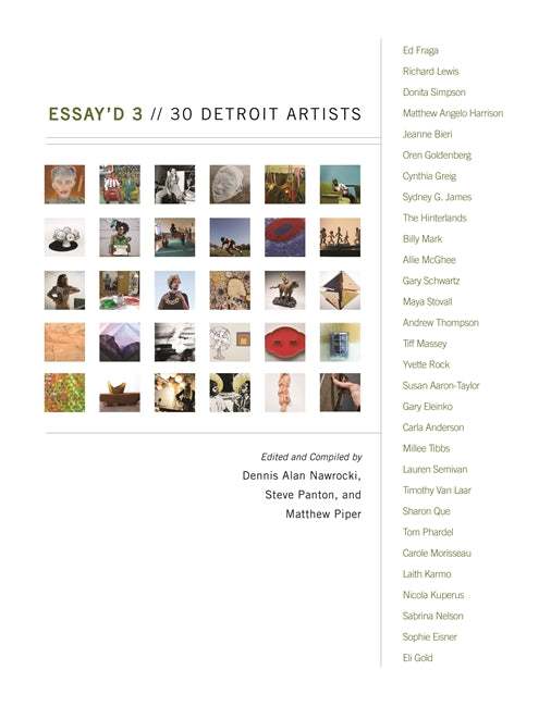 Essay'd 3: 30 Detroit Artists