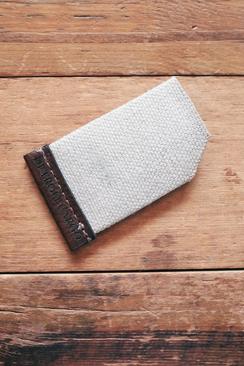 Detroit Fire Hose Wallet / Brown Leather