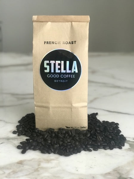 Stella Good Coffee - French Roast - Pure Detroit