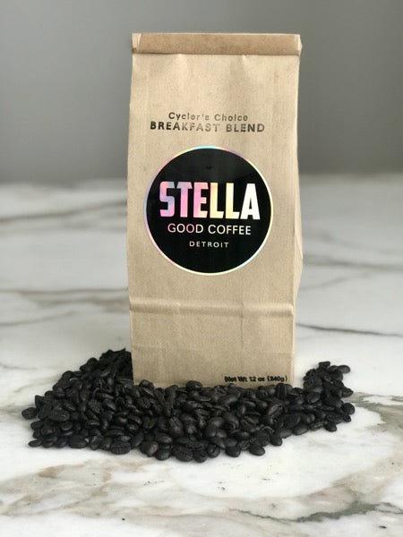 Stella Good Coffee - Cycler's Choice Breakfast Blend - Pure Detroit