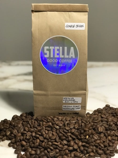 Stella Good Coffee - Single Origin Kenya - Pure Detroit