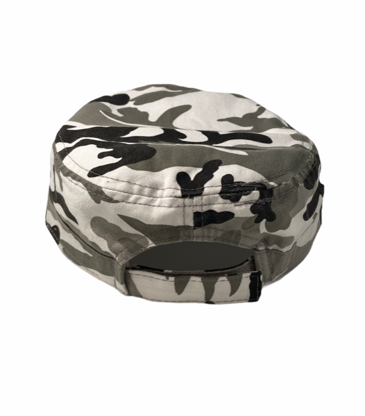 Spirit of Detroit Cadet Cap / Black + White Camo - Pure Detroit