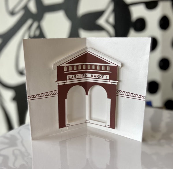 Historic Detroit / Eastern Market Pop-Up card - Pure Detroit