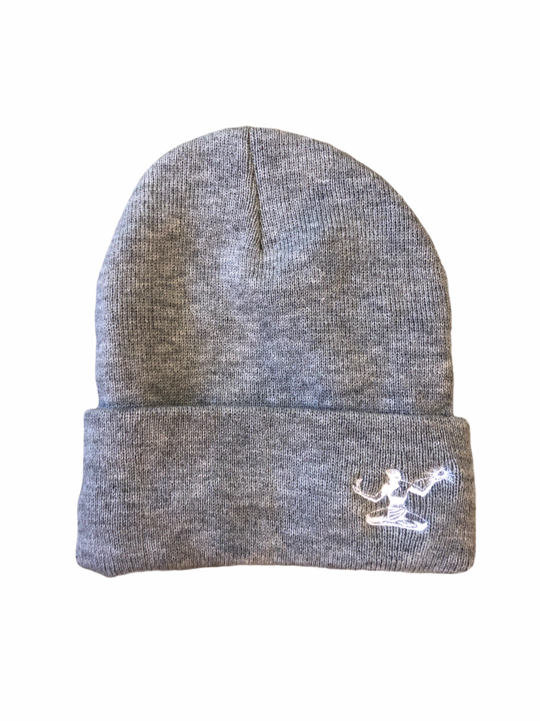 Spirit of Detroit Lined Beanie / Heather Grey - Pure Detroit
