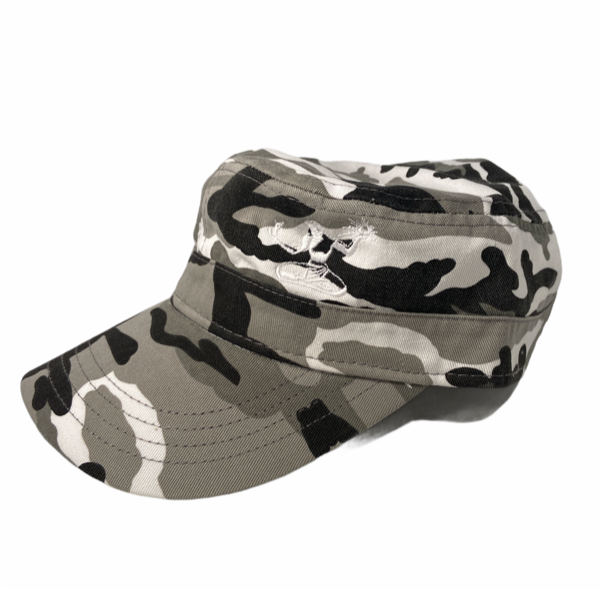 Spirit of Detroit Cadet Cap / White + White Camo - Pure Detroit