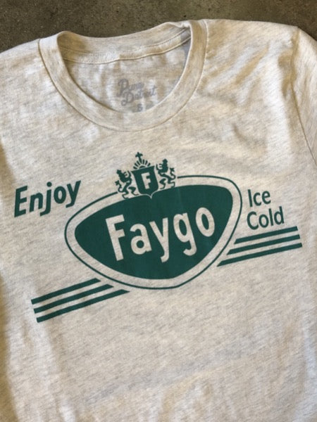 Enjoy Faygo Tee / Heather Prism Natural / Unisex - Pure Detroit