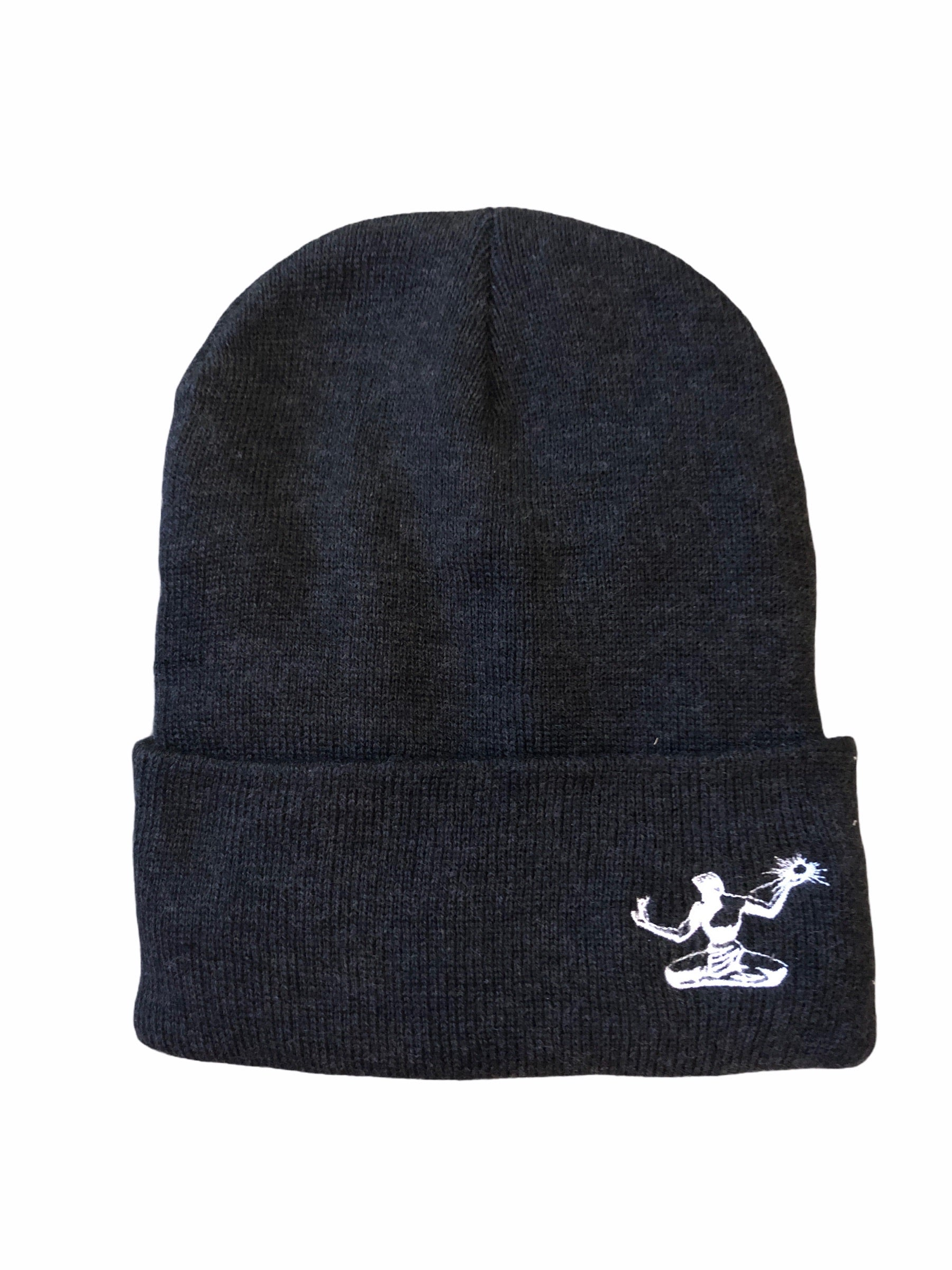 Spirit of Detroit Lined Beanie / Charcoal - Pure Detroit