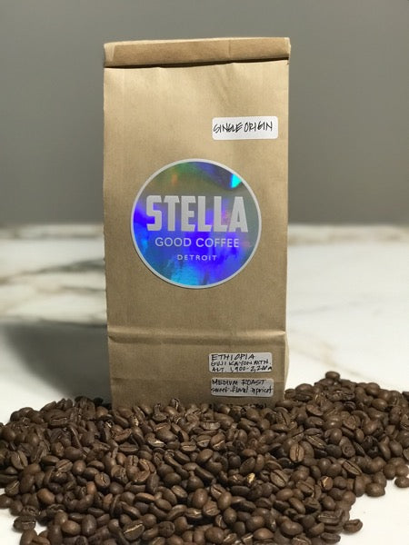 Stella Good Coffee - Single Origin Ethiopia - Pure Detroit